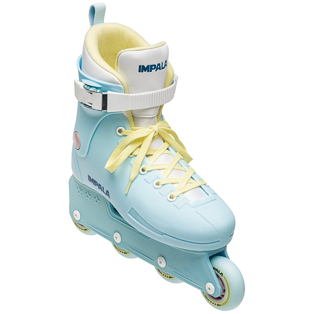 PRE-ORDER ONLY IMPALA Lightspeed Inline Skate - Sky Blue/ Yellow (DELIVERY DEC. 2020, SPRING 2021) - T. Georgiano's