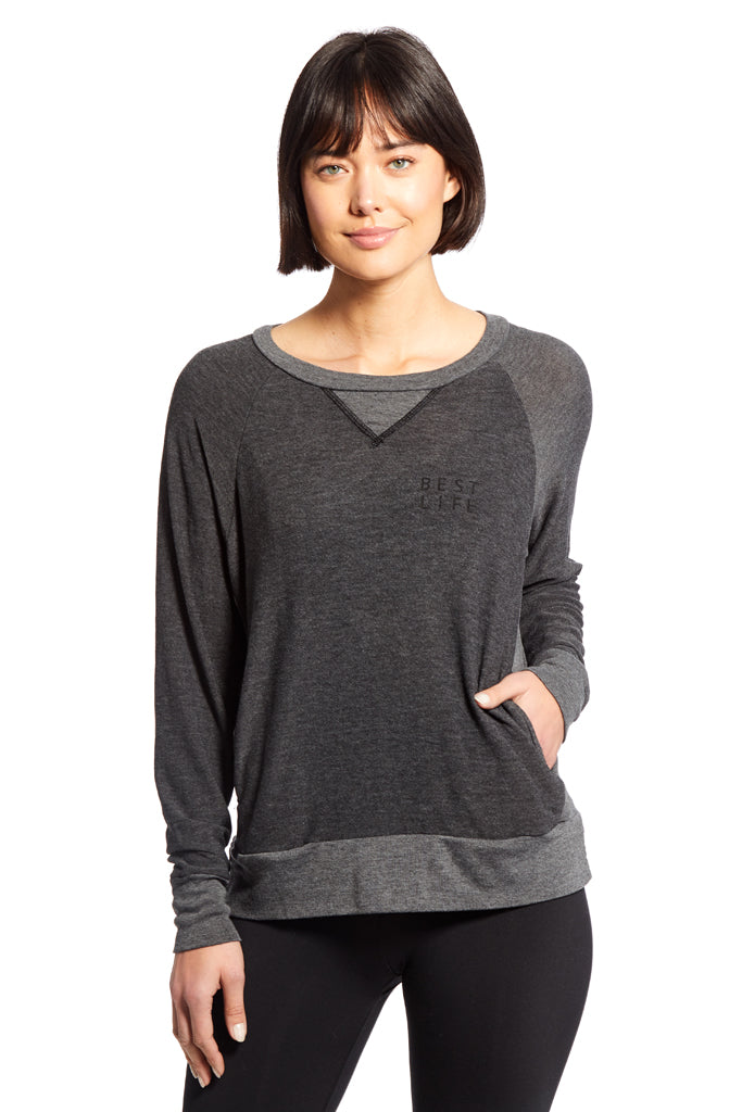 Brooke Side Pocket Pullover