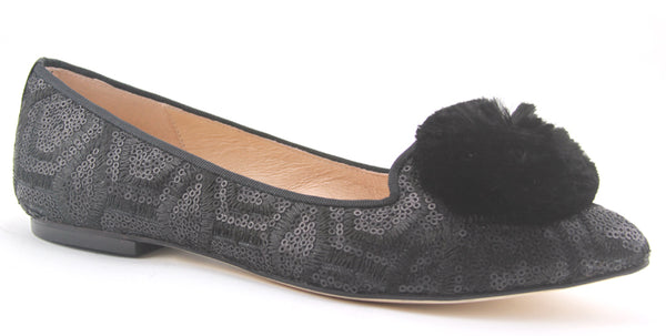 FSNY Cobb Sequin Flat - T. Georgiano's