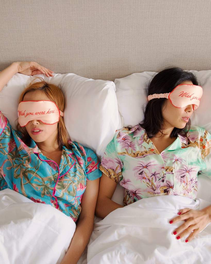 ban.do Getaway Eye Mask / Wish You Were Here