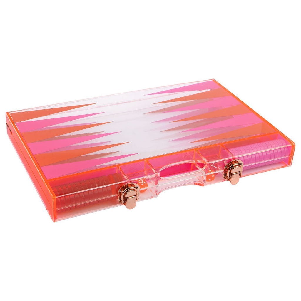Sunnylife Lucite Backgammon Set - T. Georgiano's