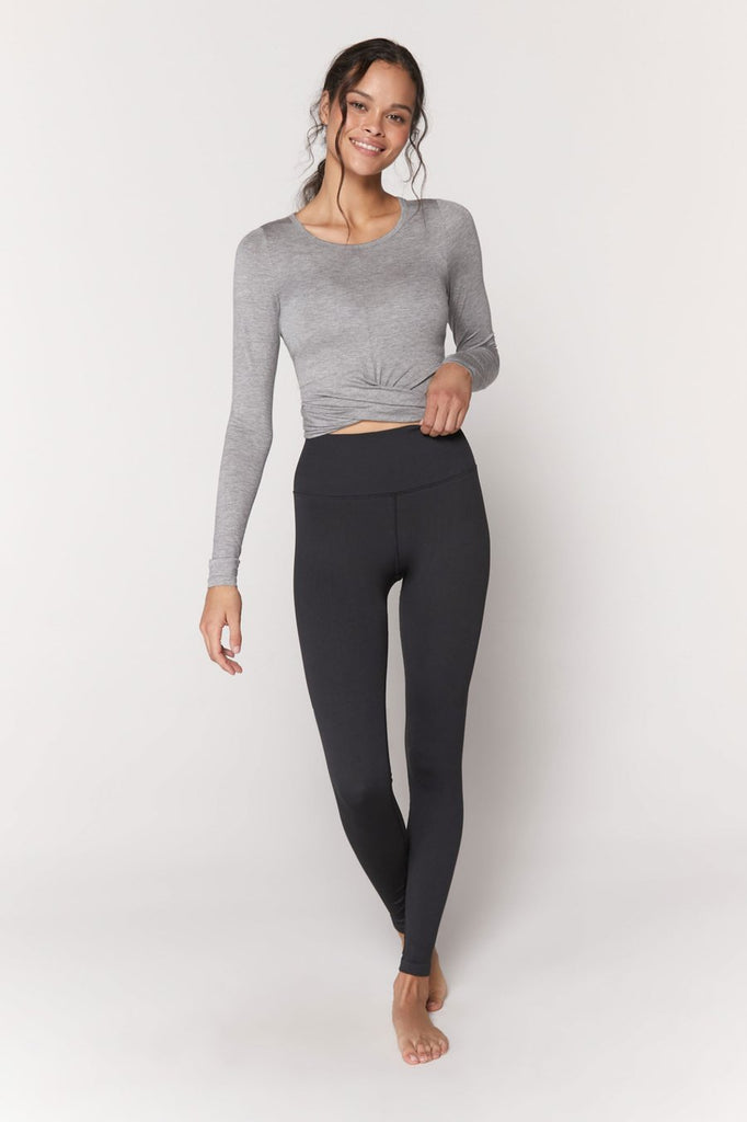 Muse Twist Front Long Sleeve - T. Georgiano's