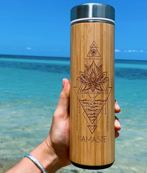Bhavana Sustainable Bamboo Water Bottles - T. Georgiano's