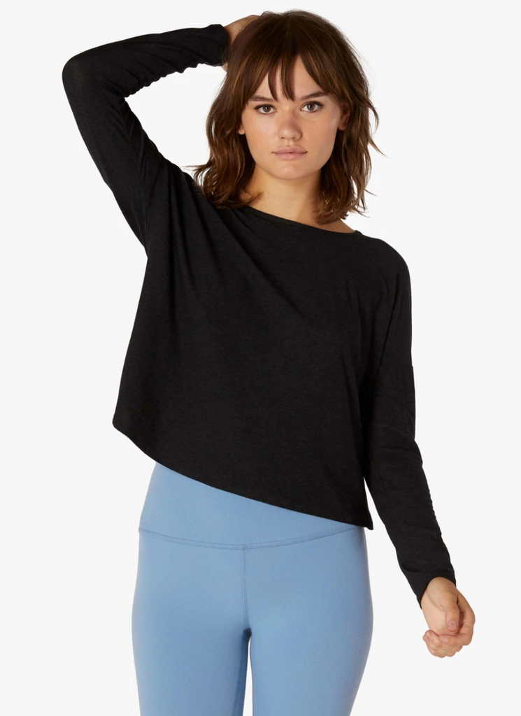 Morning Light Cropped Pullover - T. Georgiano's