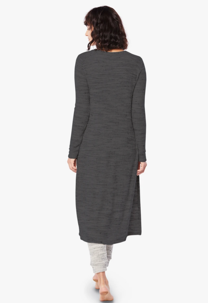 Your Line Waffle Knit 2-in-1 Duster/Dress - T. Georgiano's