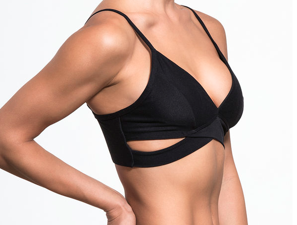 Lanston Brushed Crossover Bra