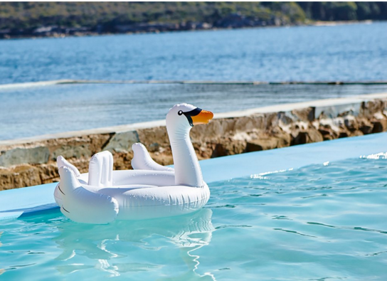 SUNNYLIFE Baby Float Swan