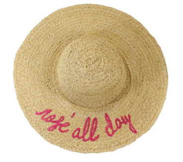 7b601ae17bd Hat Attack What s Your Motto Sunhat - T. Georgiano s