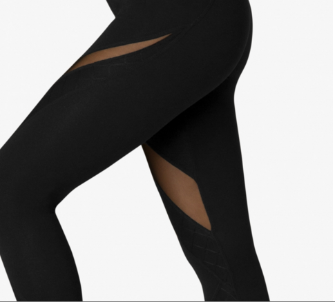 Quilt Ahead Midi Legging - T. Georgiano's
