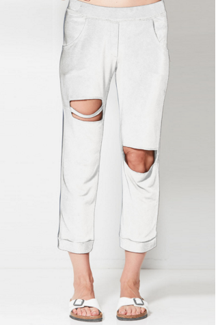 Nesh NYC Shred Jogger- White