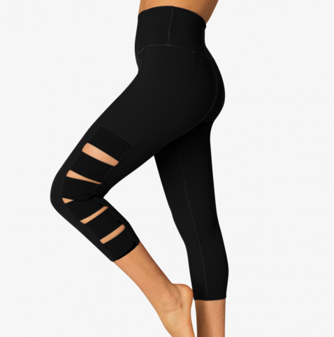 BEYOND YOGA Wide Band Stacked Capri Legging