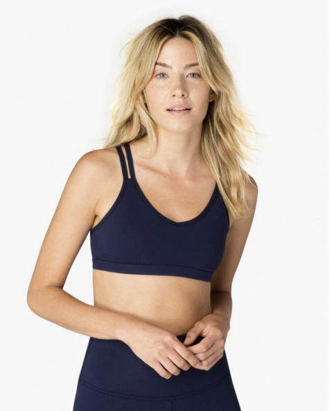 Beyond Yoga Double Back Bra
