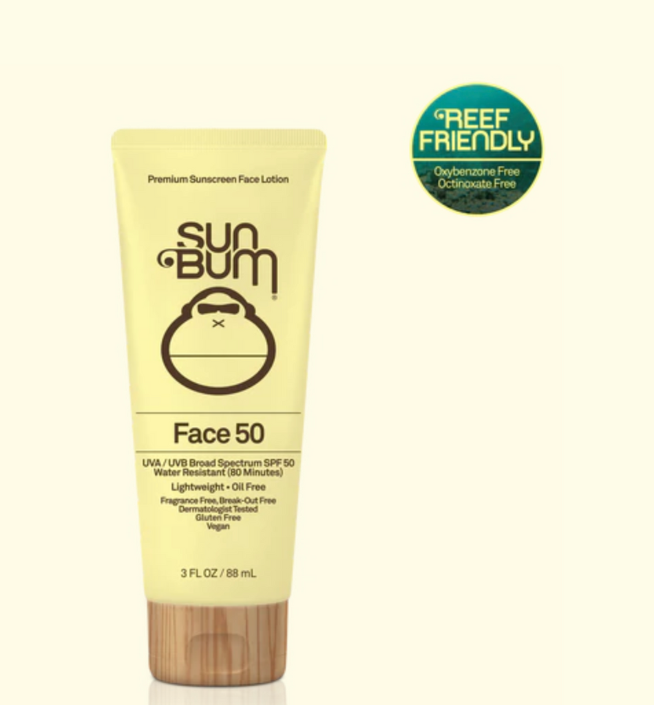 Sun Bum Face Lotion SPF 50 - 3oz