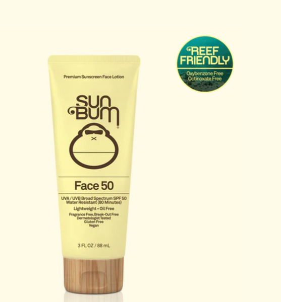 Sun Bum Face Lotion SPF 50 - 3oz - T. Georgiano's