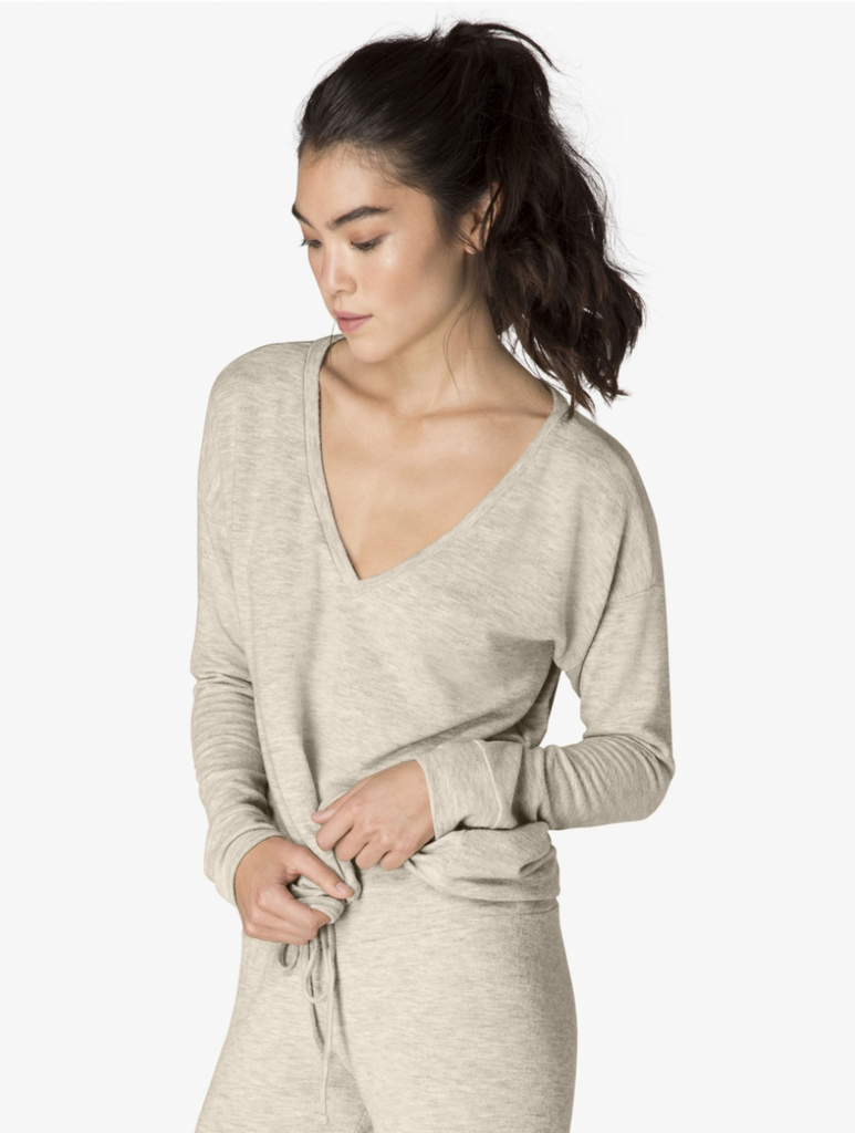 Beyond Yoga Lounge Around Pullover