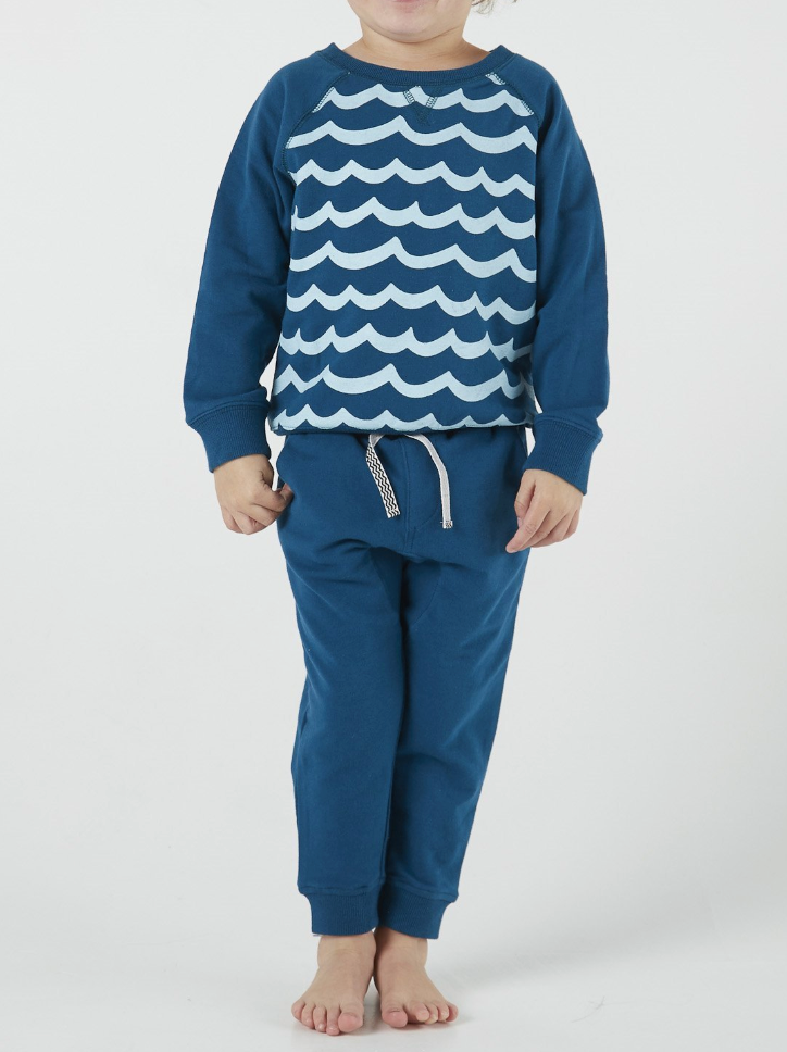 Waves for Daze Pullover - T. Georgiano's