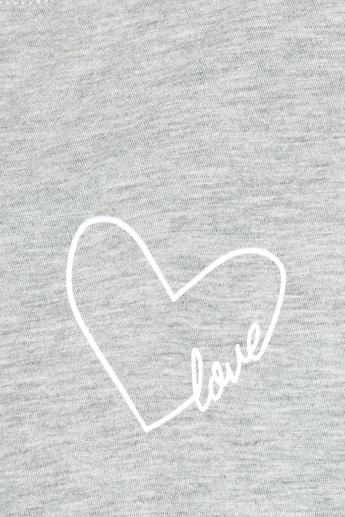 Love in Heart Claire SS Box Tee - T. Georgiano's