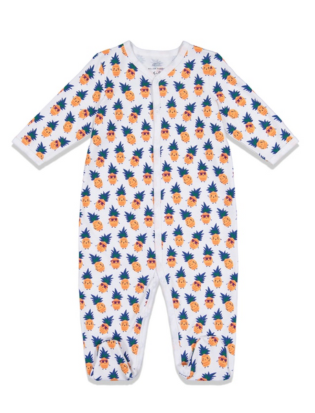 Roberta Roller Rabbit Infant Footie Pajamas - T. Georgiano's