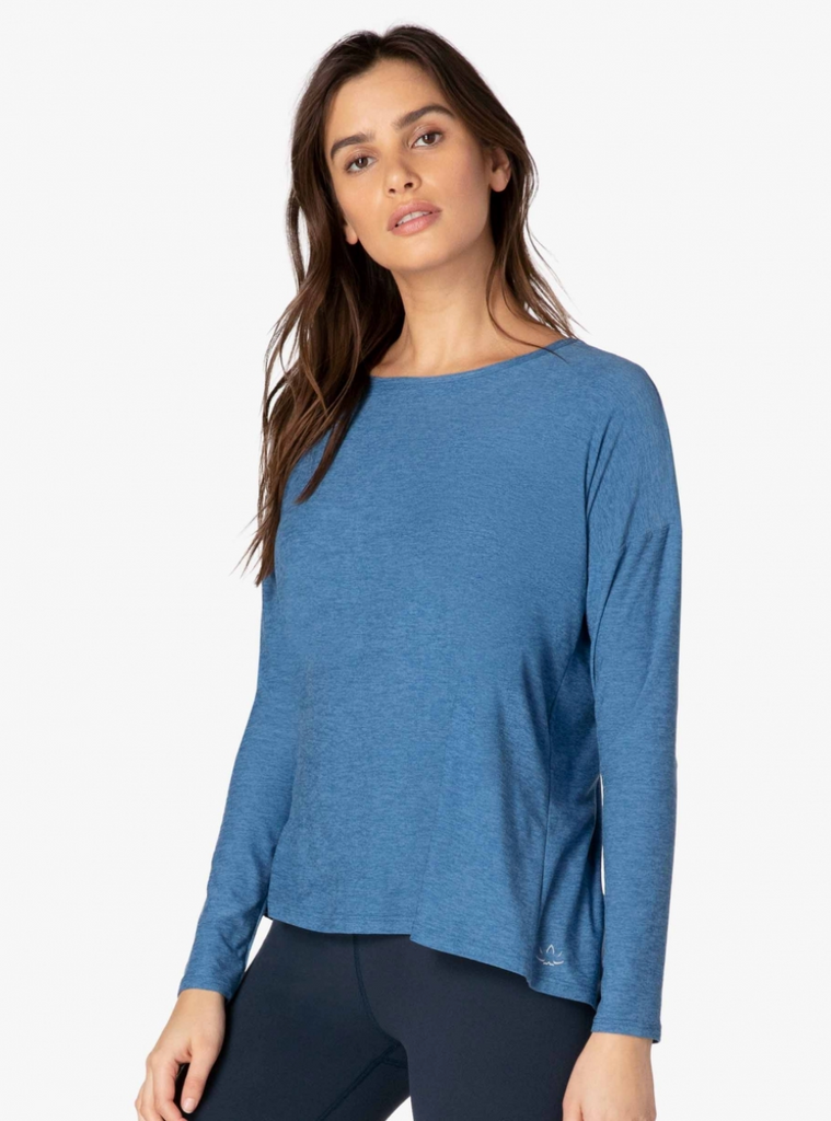 Draw the Line Tie Back Pullover - T. Georgiano's