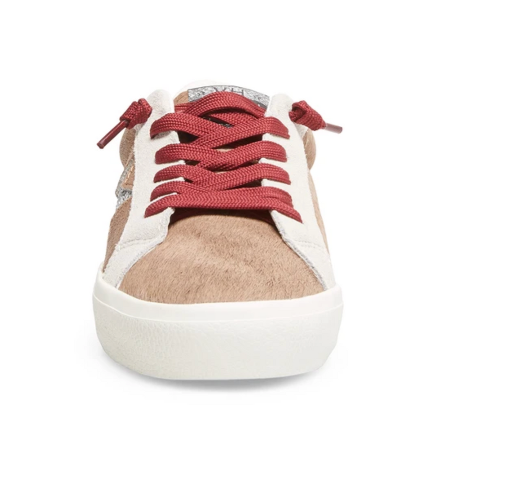 Philo Khaki Multi Sneaker - T. Georgiano's