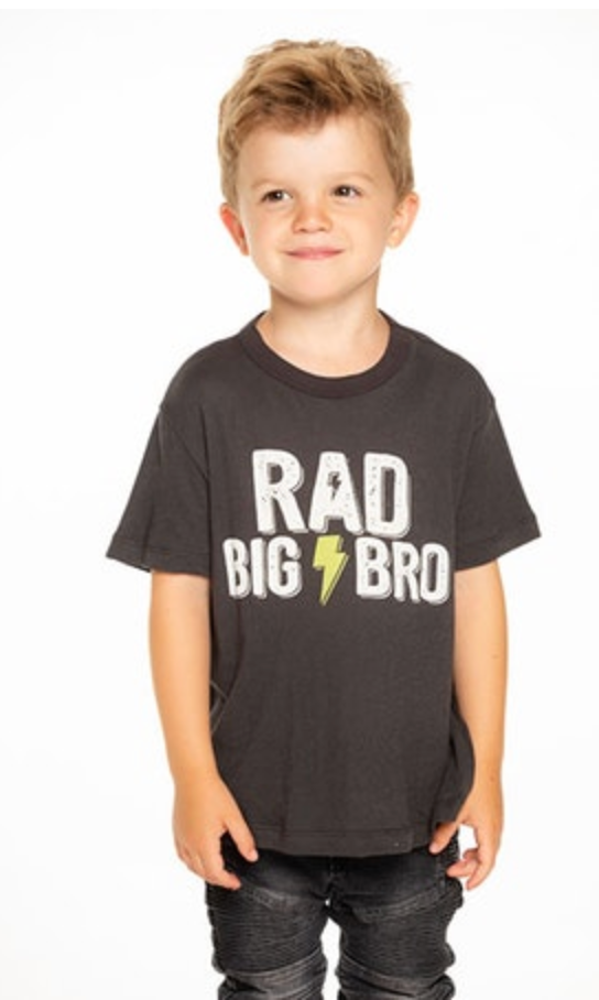CB103907-CHK1536 BOYS GAUZY COTTON S/S TEE - T. Georgiano's