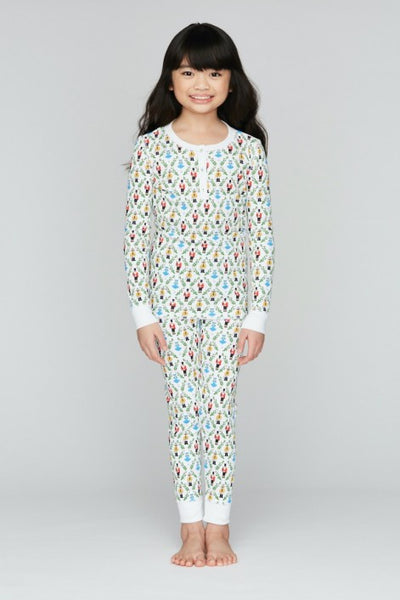 Kids Sugar Plum Party Pajamas - T. Georgiano's