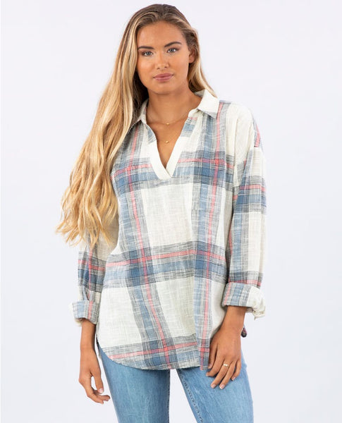 Wonder Love Plaid Shirt