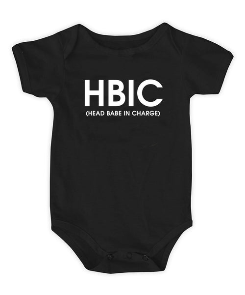 HEAD BABE IN CHARGE ONESIE - T. Georgiano's