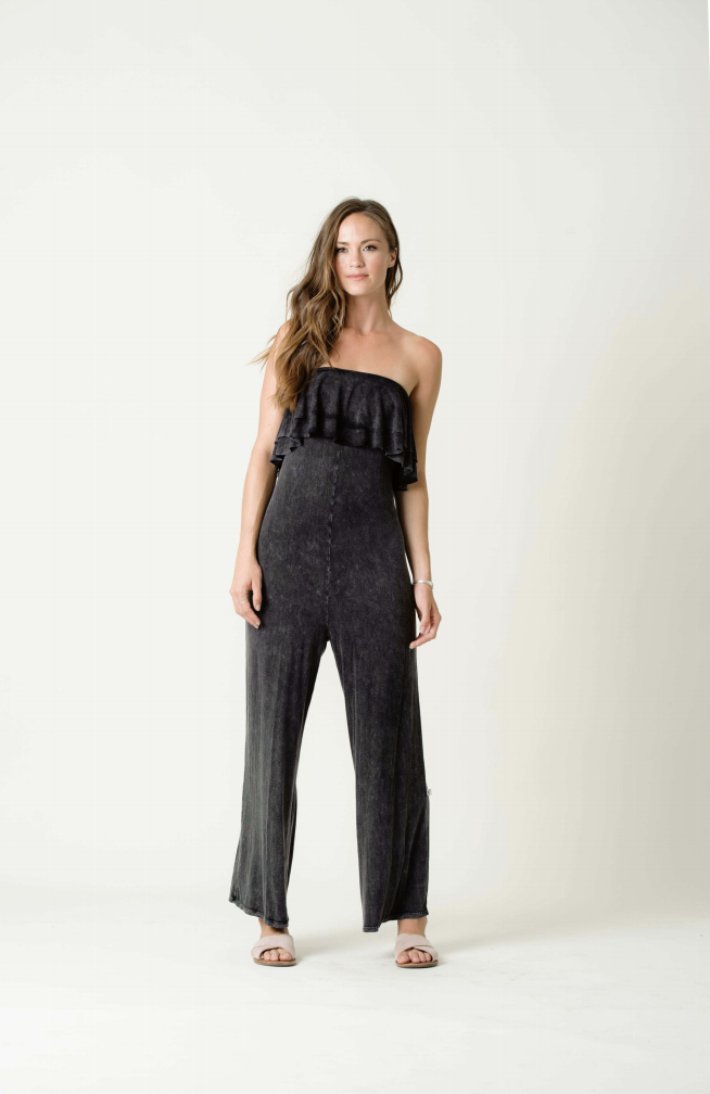 NYTT 2 Tier Ruffle Jumpsuit - T. Georgiano's
