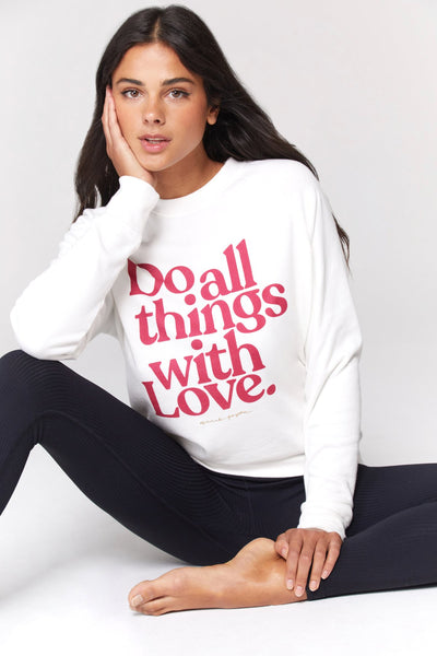 ALL THINGS WITH LOVE OLD SCHOOL PULLOVER - T. Georgiano's