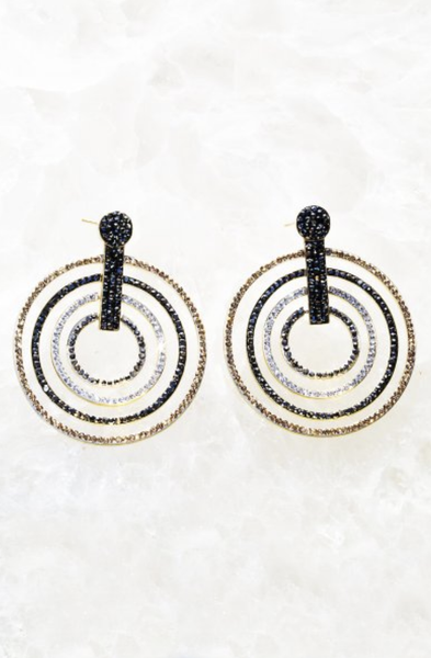 Solar Illume Statement Earring - T. Georgiano's