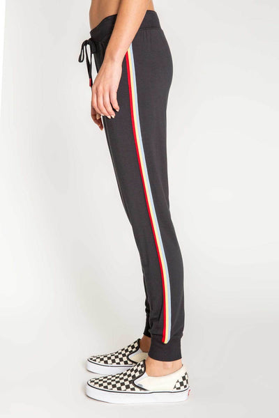Band Pant Cozy Zip - T. Georgiano's