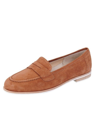JON JOSEF Audrey Luggage Penny Loafer - T. Georgiano's