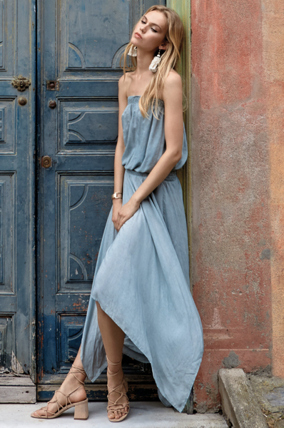 Dress w/Smock Waist - T. Georgiano's