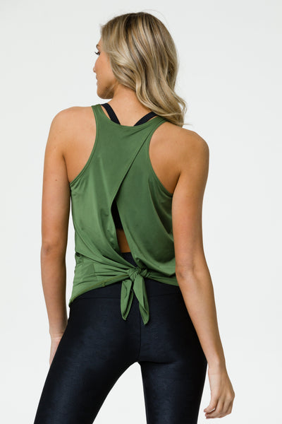 Tie Back Twist Tank - T. Georgiano's