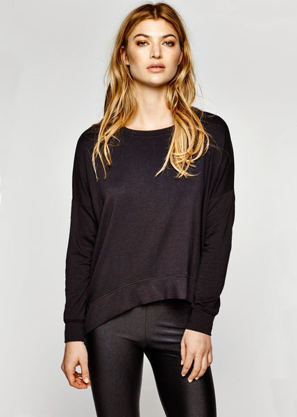 T-160 The Essential Sweatshirt - Black