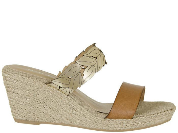 Nina Grecian Wedge - T. Georgiano's