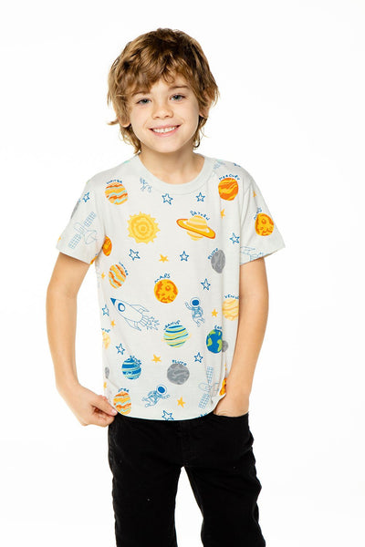 OUT OF THIS WORLD BOYS RECYCLED VINTAGE JERSEY SHORT SLEEVE TEE - T. Georgiano's