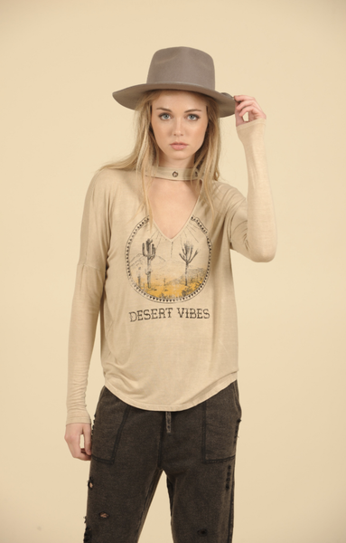 Desert Vibes Cutout Top
