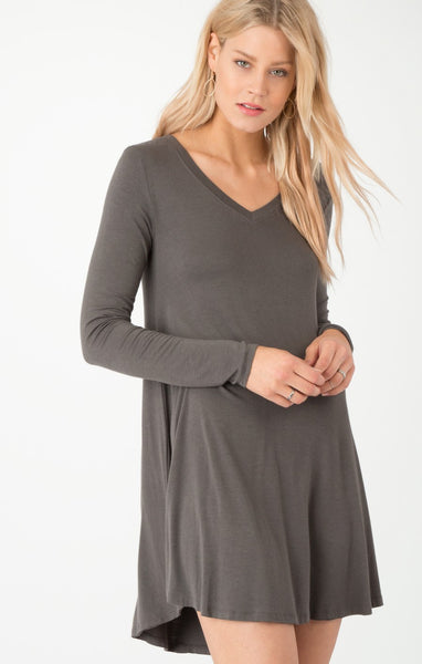 Z Supply The L/S Breezy Dress