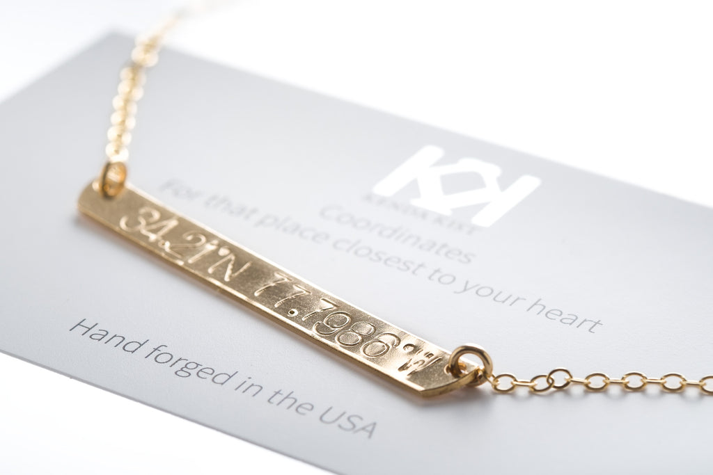 Personalize Plate Necklace