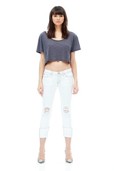 Hudson Tally Crop Skinny Trouble Maker