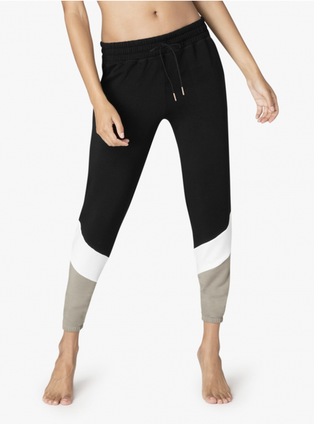 Beyond Yoga Living Easy Chevron Sweatpant