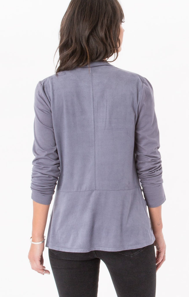 Z Supply The Suede Waterfall Cardigan - T. Georgiano's
