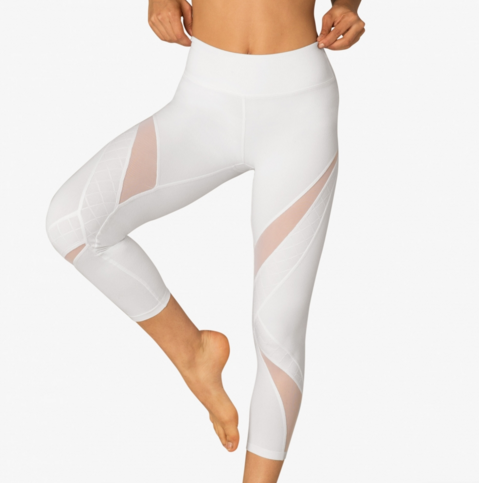 BEYOND YOGA Quilt Ahead Midi Legging