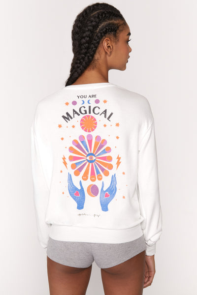 Magical Crew Neck Savasana - T. Georgiano's