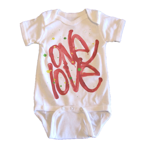 One Love Onesie - T. Georgiano's