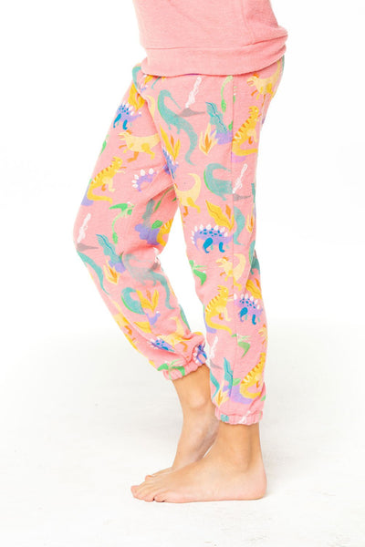 LADY DINO GIRLS LOVE KNIT COZY SWEATPANT - T. Georgiano's