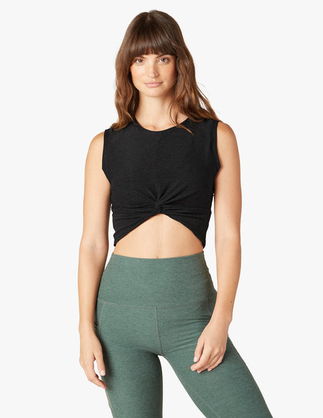 TWIST OF FATE CROPPED TANK - T. Georgiano's
