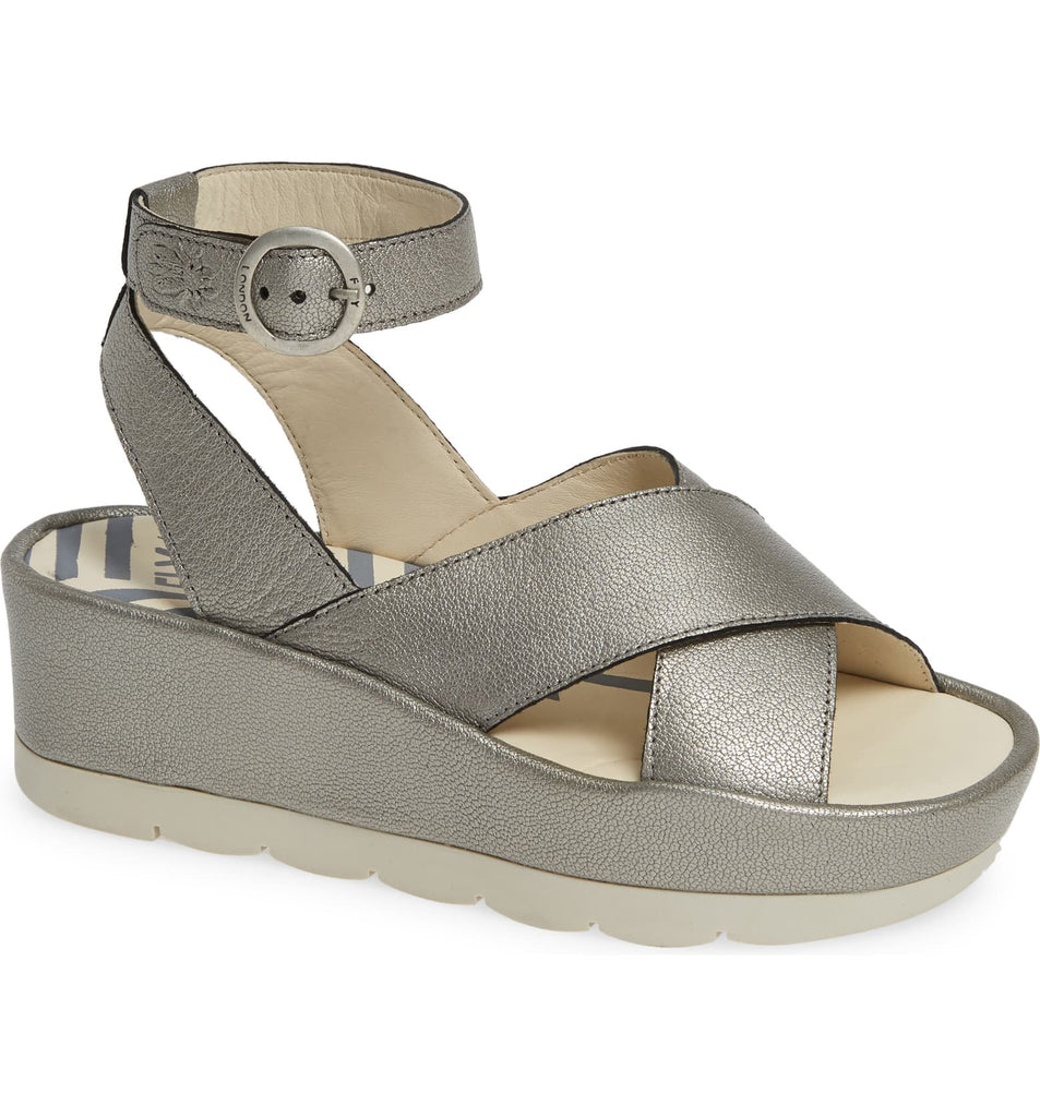 Fly London Bite Wedge Sandal - T. Georgiano's